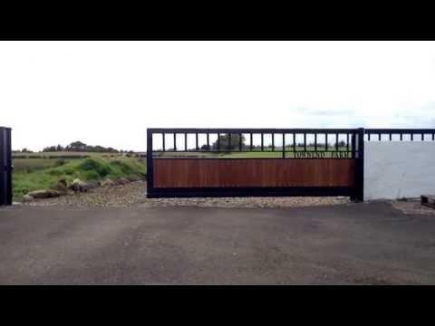 6m automatic cantilever sliding gate