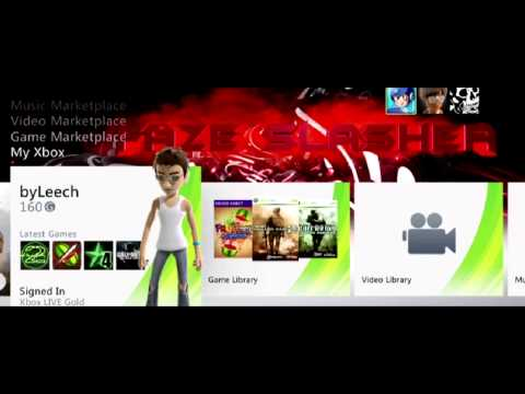 Update on Xbox 360 Dashboard Backgrounds ! Watch !