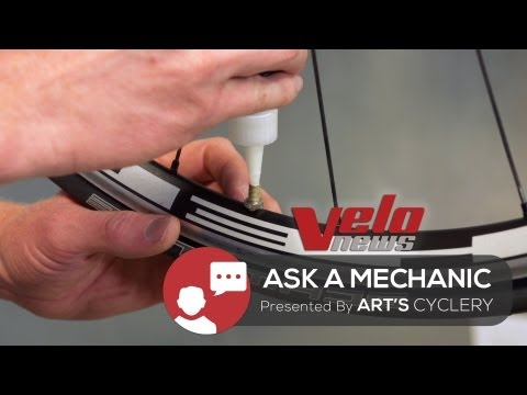 Ask A Mechanic: Installing Road Tubeless Tires
