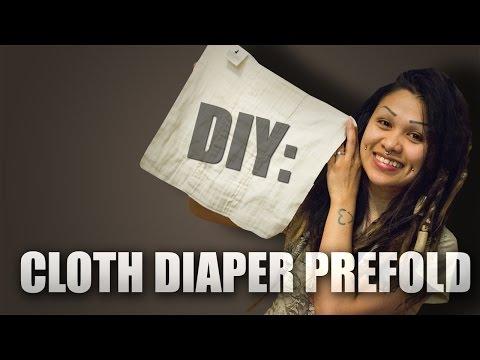 How To: Make A Cloth Diaper Prefold
