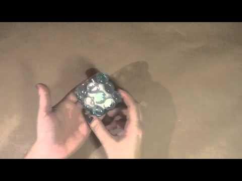 DIY Glass Bead Votive Candle