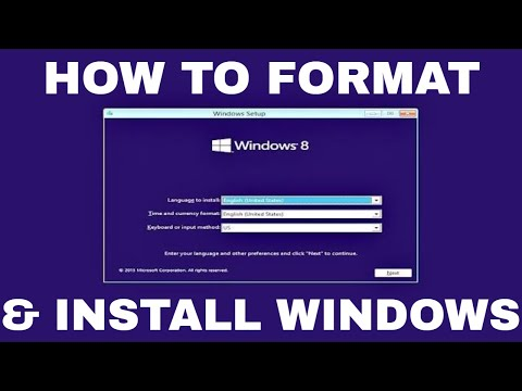 Windows 8.1 Formatting and Clean Installation