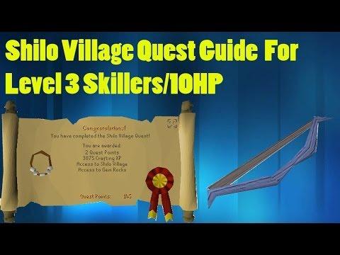 Oldschool Shilo Village Quest Guide for Level 3s/10HP