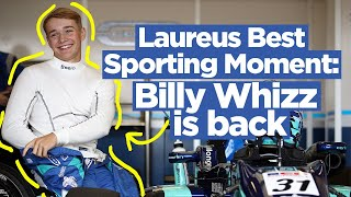 Best Sporting Moment - Billy Whizz is back