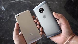 Xiaomi Redmi 4A vs Moto G5 quick comparison