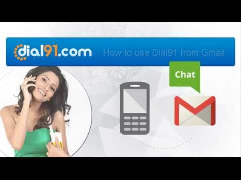 How to use Dial91 with Gmail