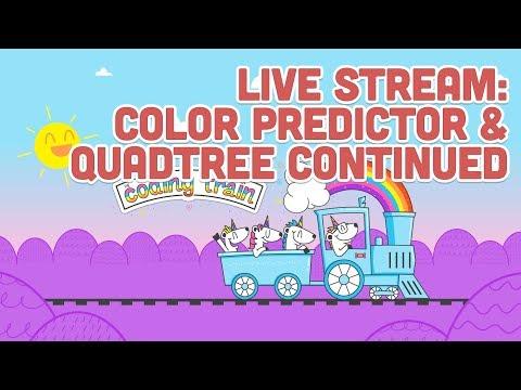 Live Stream #130: Color Predictor and Quadtree Continued