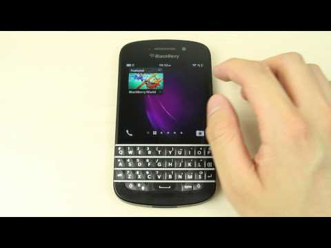 How to install, reorganize and uninstall apps on Blackberry Q10