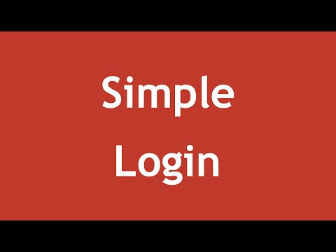 [ Learn PHP 5 In Arabic ] #91 - Session Training - Simple Login