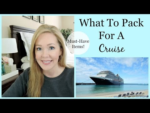 What To Pack For A Cruise | Must Have Items