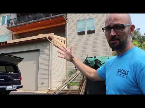 Fixing a Failed Waterproof Deck Part 1   Kashas Design Build