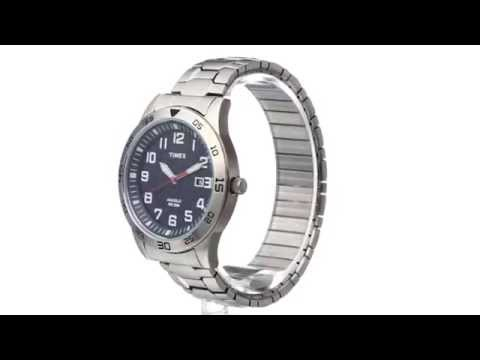 Timex Stainless Steel Expansion Band Watch  SKU:8533745