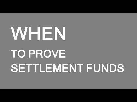 When to provide proof of funds for immigration to Canada. LP Group Canada