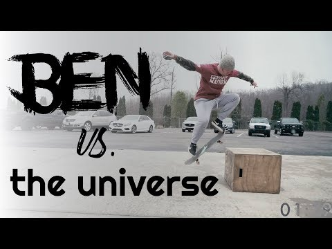 CrossFit + Skateboarding: Wednesday Workout - Ben vs. The Universe