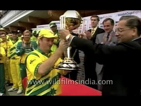 Australia vs Pakistan : Cricket World Cup 1999 Final