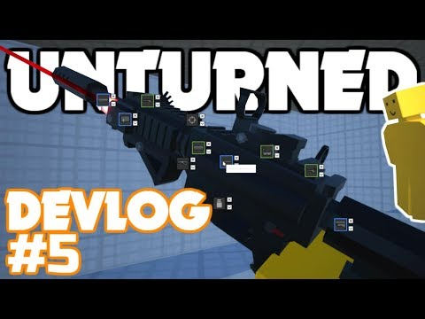 Unturned 4.0 Devlog #005! EARLY ACCESS, Multiplayer, Attachment Customization, & New 5.56mm Ammo!