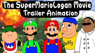 The SuperMarioLogan Movie Teaser Trailer! Animation