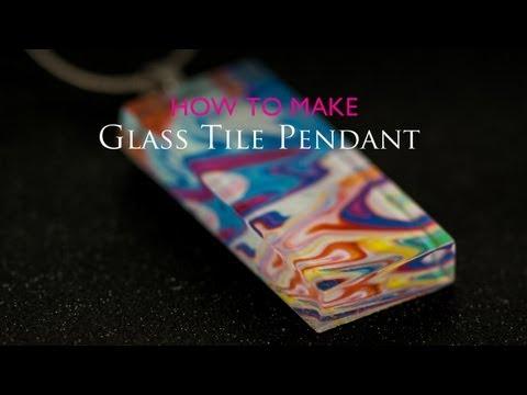 How to Make Glass Tile Pendant