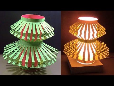 DIY Home decor - Paper Light Shade |