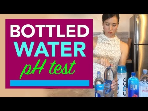 Testing Bottled Water for pH Levels |  Is it Alkaline or Acidic?