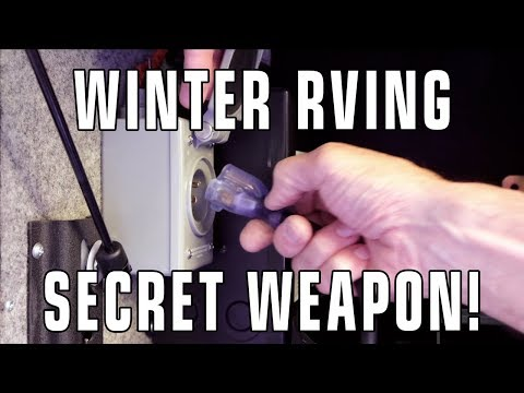 Installing Our Winter RVing Secret Weapon!