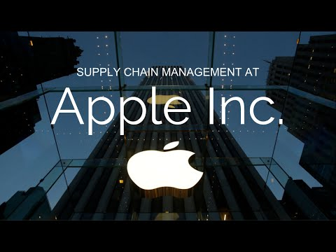 SUPPLY CHAIN MANAGEMENT AT APPLE INC.