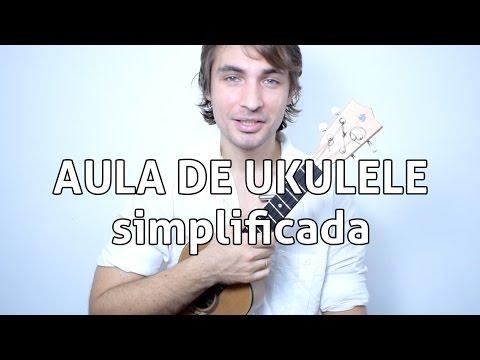 Águas de Março - Tom Jobim (aula de ukulele simplificada)
