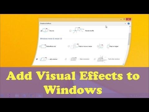 Nimi Visuals-Add Visual Effects to Windows