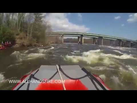 AB Inflatable Rescue Boat operating in the Merrimack River, NH (1)