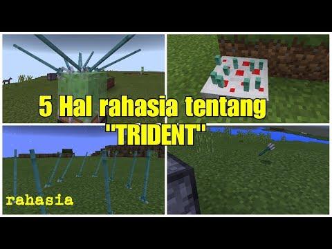 5 HAL RAHASIA TRIDENT DAN TRIK KEREN LAINNYA!! - MCPE INDOONESIA