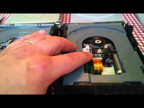 Xbox 360 DVD laser adjustment