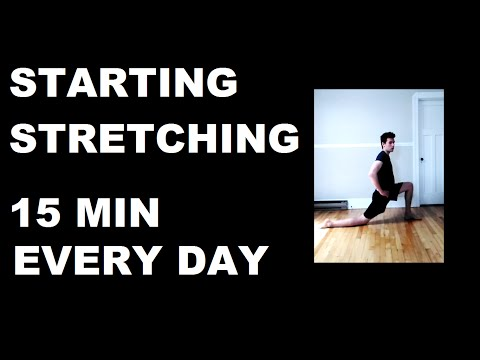 Starting Stretching - 15 Minute Everyday Flexibility Routine