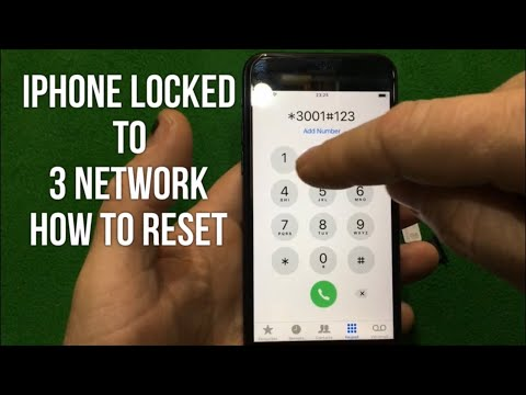 IPHONE Sim Locked To 3 Network (How To Reset) Code