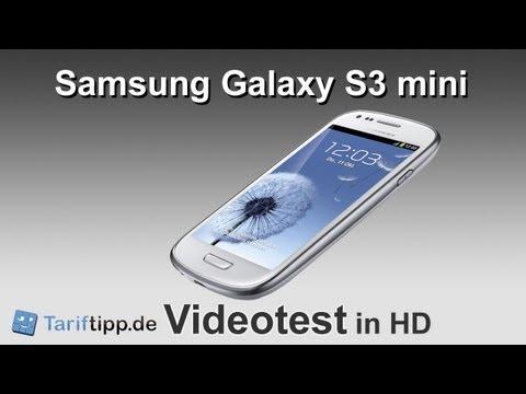 Samsung Galaxy S3 mini | Test in HD (deutsch)