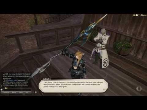 Final Fantasy XIV Realm Reborn ; ATMA WEAPON