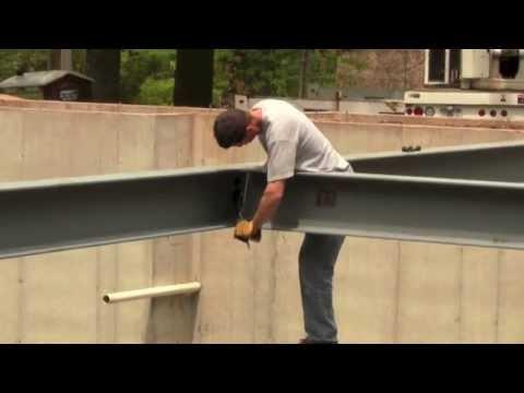 Custom Home Builder Tips - Setting Steel Beams - Divak Developers