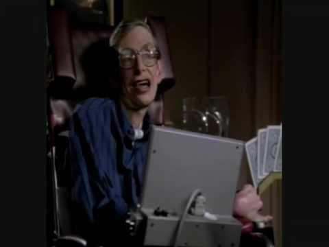 ST:TNG Data's Poker Face (FEAT Stephen Hawking)