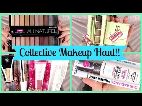 HUGE Collective Makeup Haul! 2016- SMARTER BEAUTY