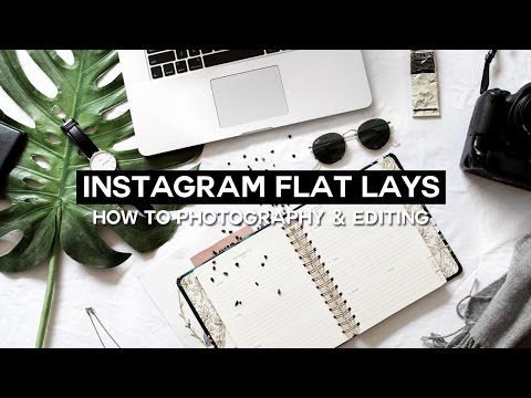 How To: The Perfect Flat Lay Photo + Editing // Instagram Series