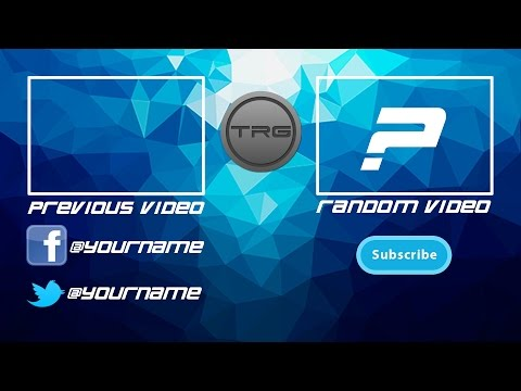 DIY: Create your own YouTube Outro! Fast n Easy Gimp (FREE)!