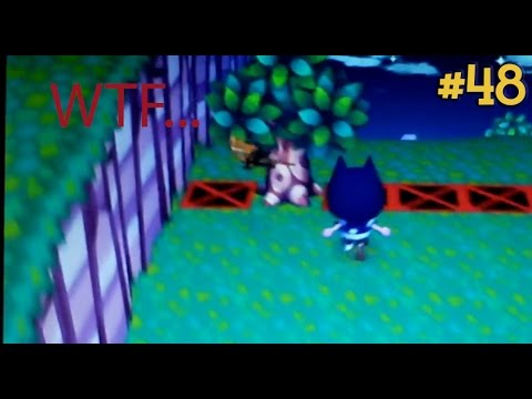 Animal Crossing: City Folk 100% - #48: Catching a TON of bugs! (feat. Oak Silk Moths)