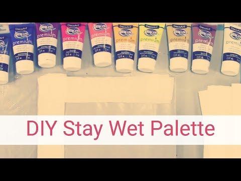 DIY Stay Wet Palette