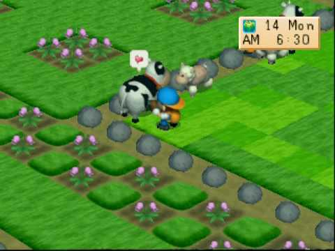 Harvestmoon : Back to Nature - My Farm