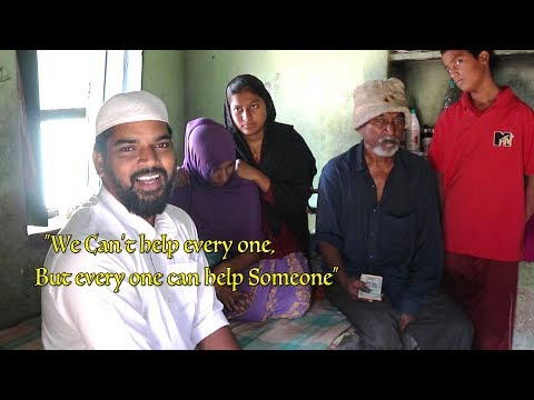 Nawabs Kitchen Helping a poor family |Nawabs kitchen|