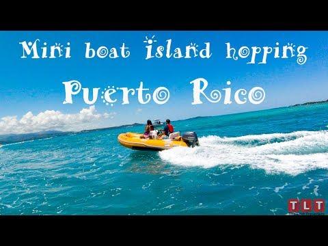 Must do in Puerto Rico : Mini boat ride, Island hopping, Snorkeling - GoPro Hero 5, VLOG# 3