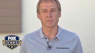 Jurgen Klinsmann left some parting words for U.S. soccer fans