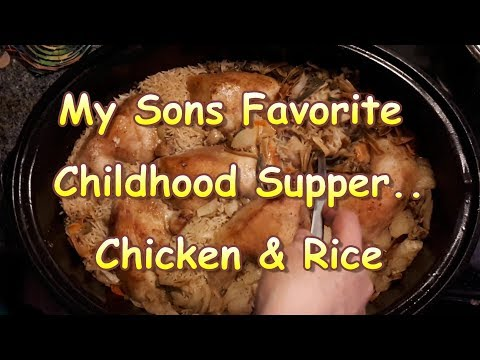Classic Chicken and Rice