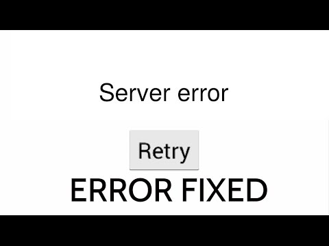 how to fix server error Google Play Store