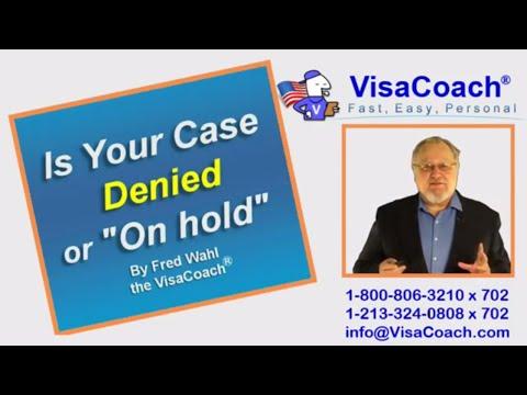 Visa Application: Denied or
