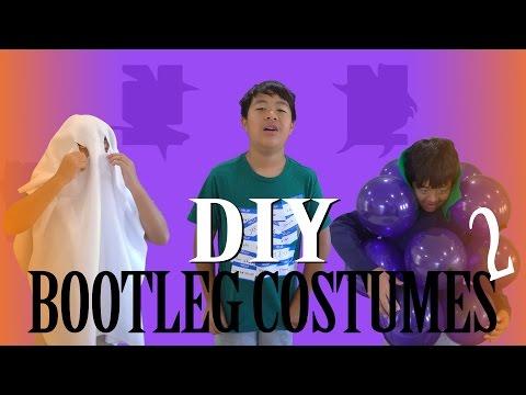3 MORE DIY BOOTLEG HALLOWEEN COSTUMES | ASKVINCENT